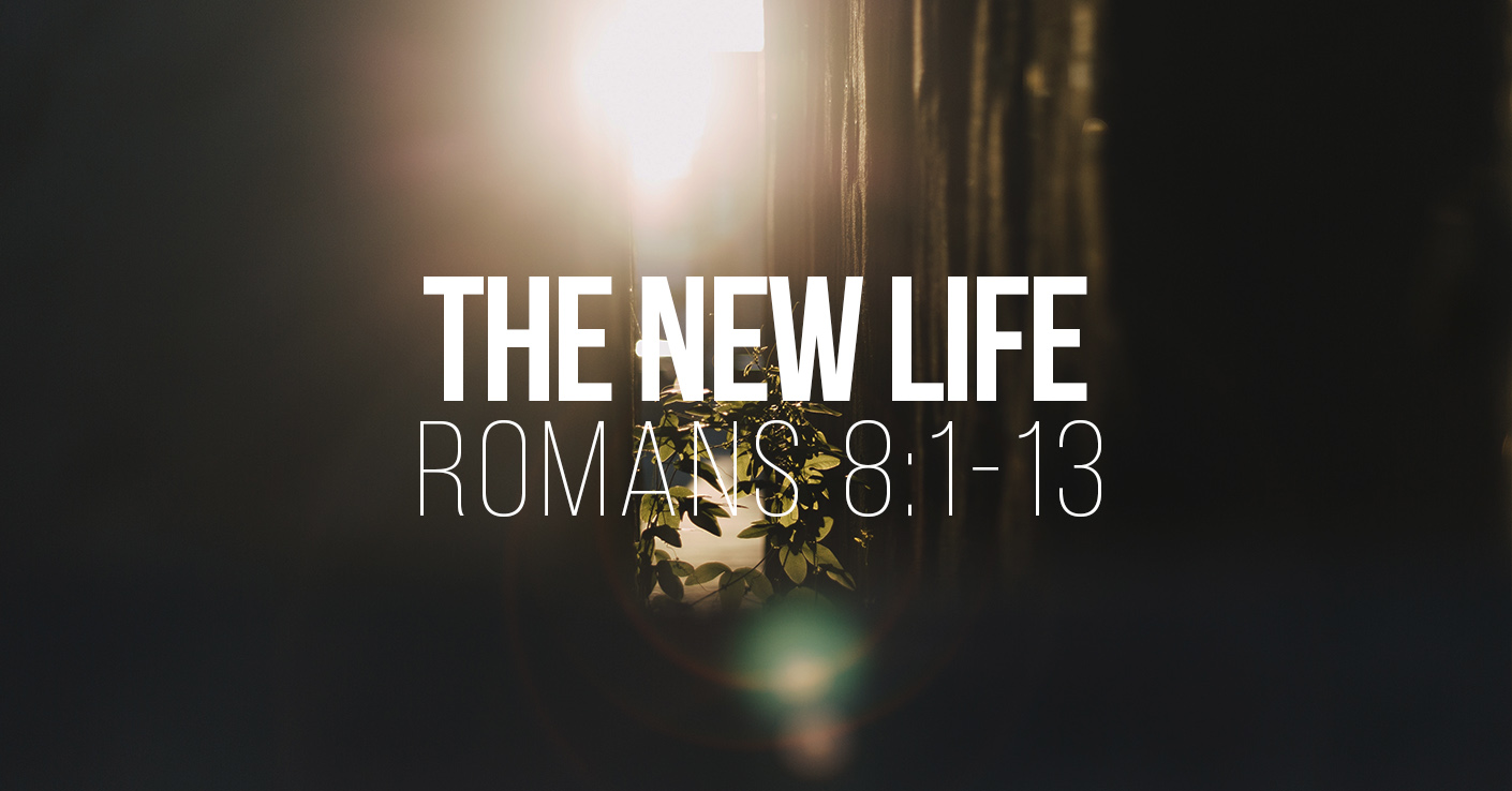 Romans 8:1-13  - a Sermon by Tom French