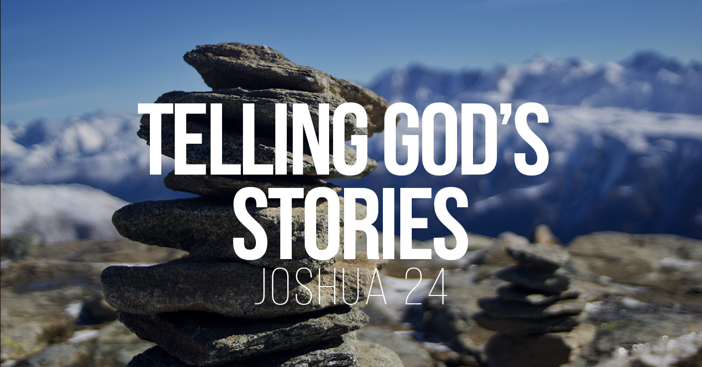 Telling God's Stories - a Bible talk by Tom French