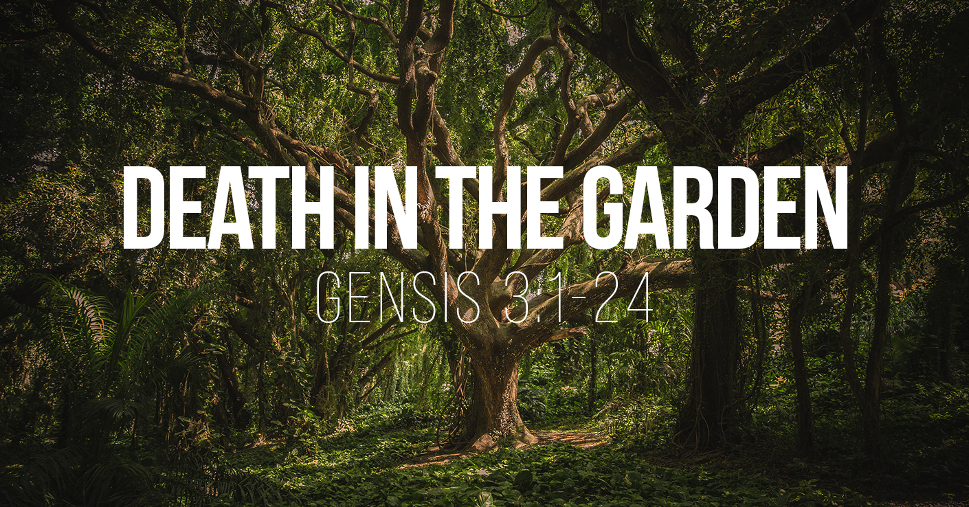 Death in the Garden - Genesis 3v1-24 - a sermon by Tom French